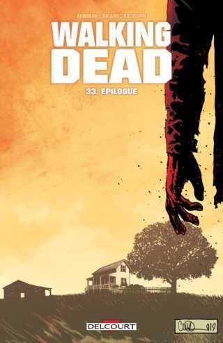 Robert Kirkman créateur de Walking Dead qui se termine par un dernier volume, est pour la première fois en France à Angoulême