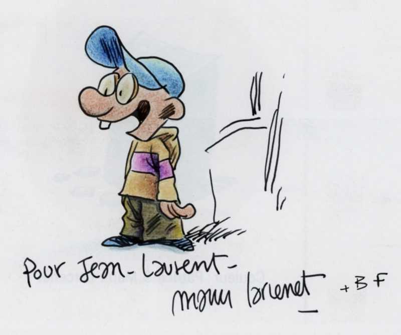 Dédicace de Manu Larcenet