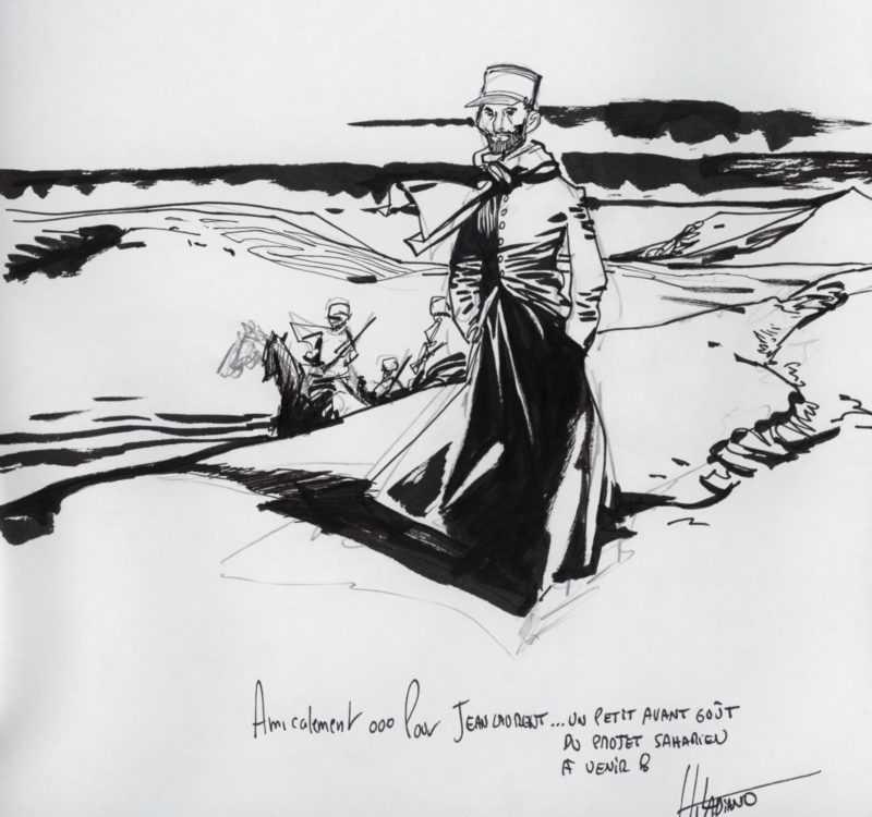 Dédicace de Hugues Labiano
