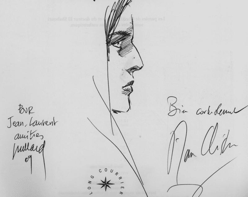Dédicace d'André Juillard et Pierre Christin