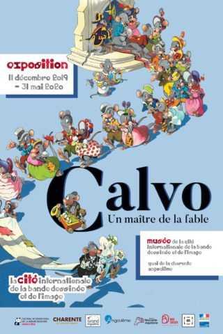 Expo Calvo à Angoulême, une rencontre avec un maître de la fable à ne pas manquer