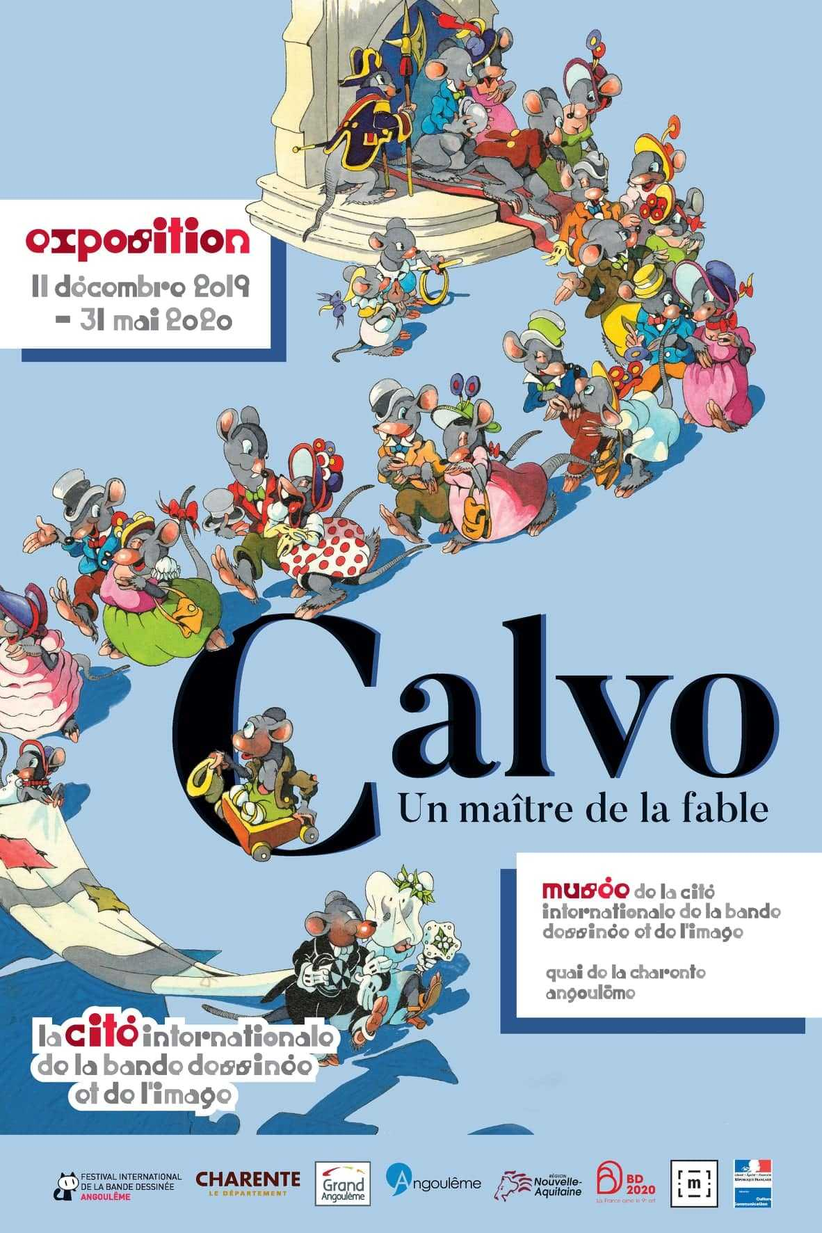 Calvo maître de la fable à Angoulême, une expo à ne pas ...
