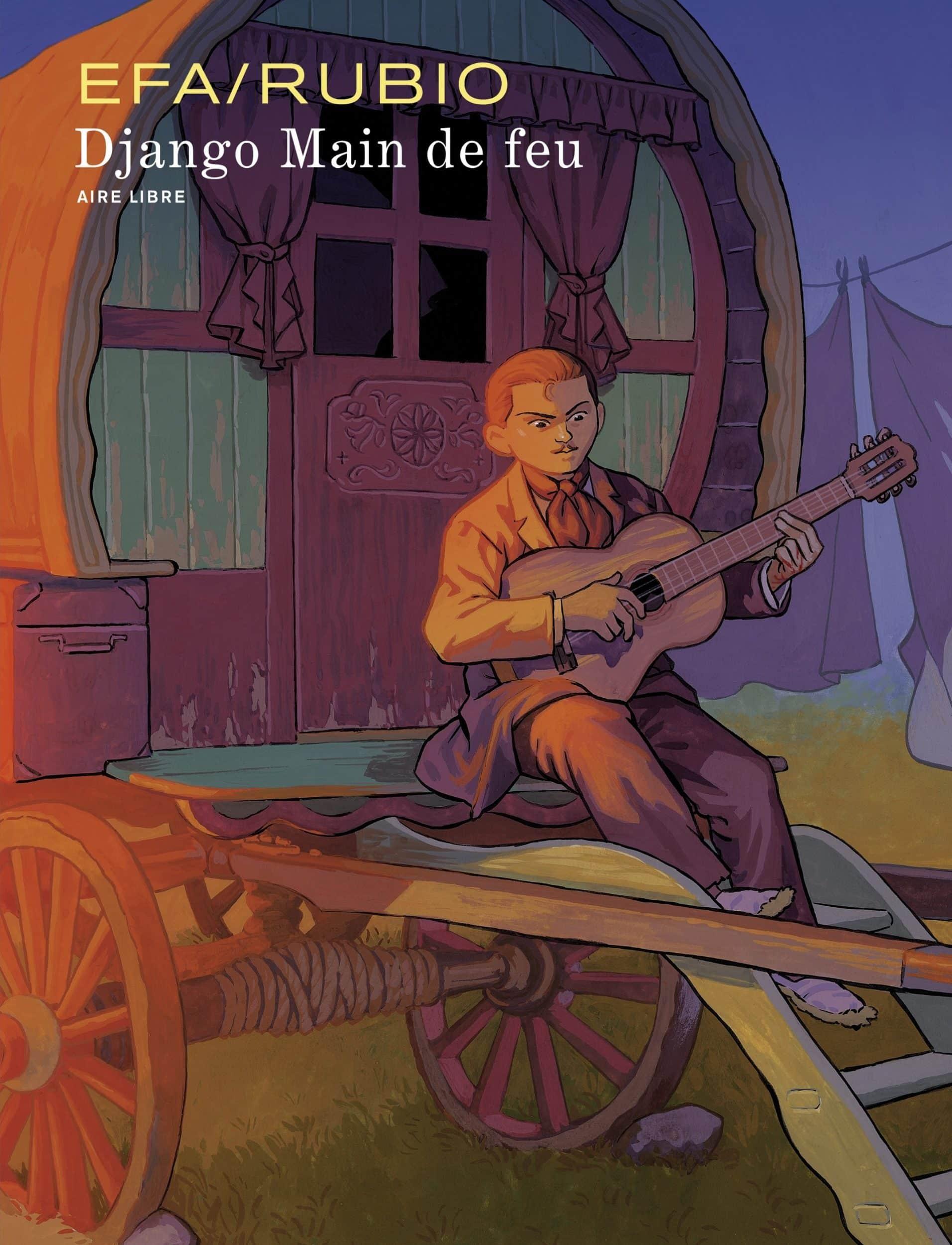 Django Main de feu, un magicien sur des Nuages