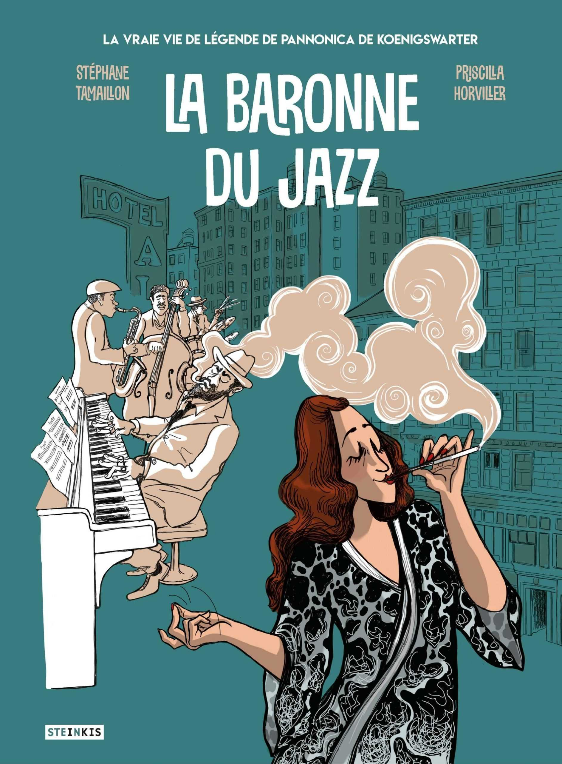 La Baronne du jazz, Pannonica la rebelle