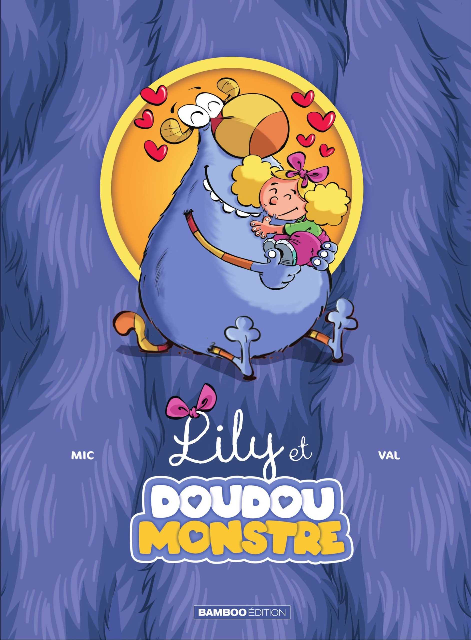 Lily et Doudoumonstre, un nouveau duo jeunesse