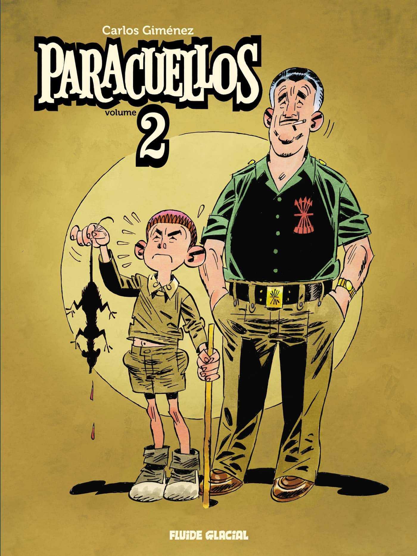 Paracuellos, l'intégrale volume 2 des albums inédits