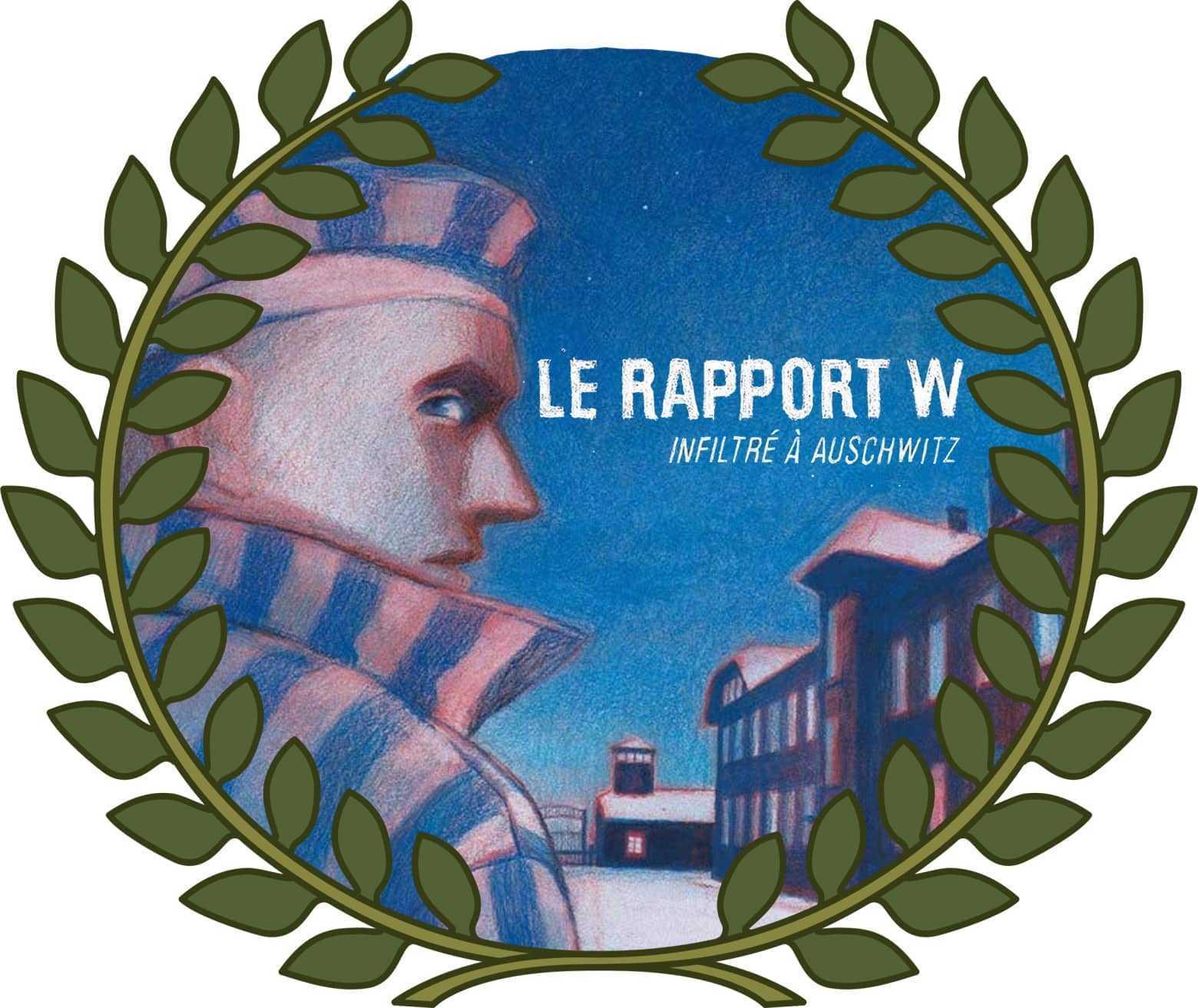 Le Prix Cases d'Histoire 2019 au Rapport W de Gaétan Nocq