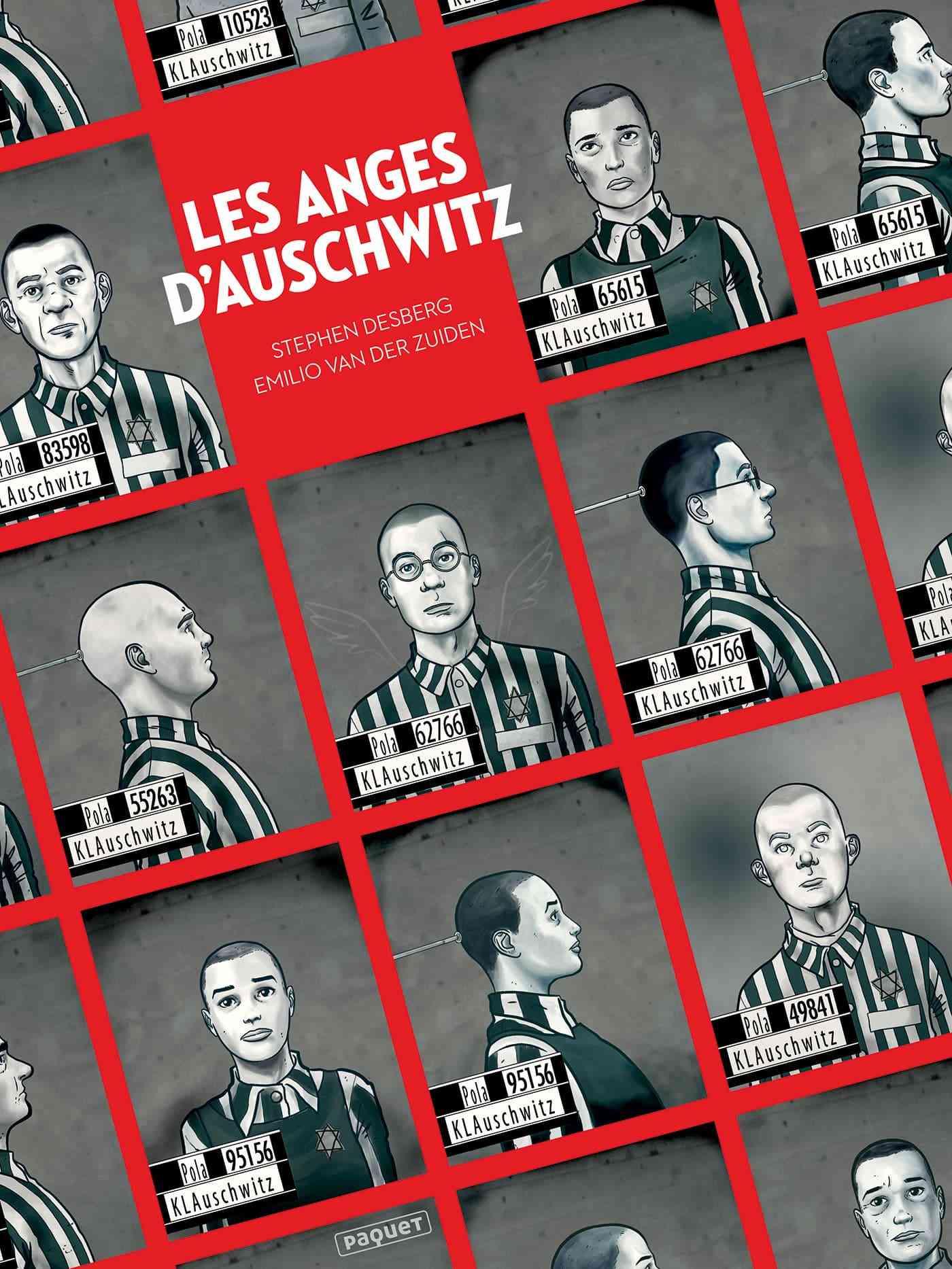 Les Anges d'Auschwitz, le cri silencieux de Desberg