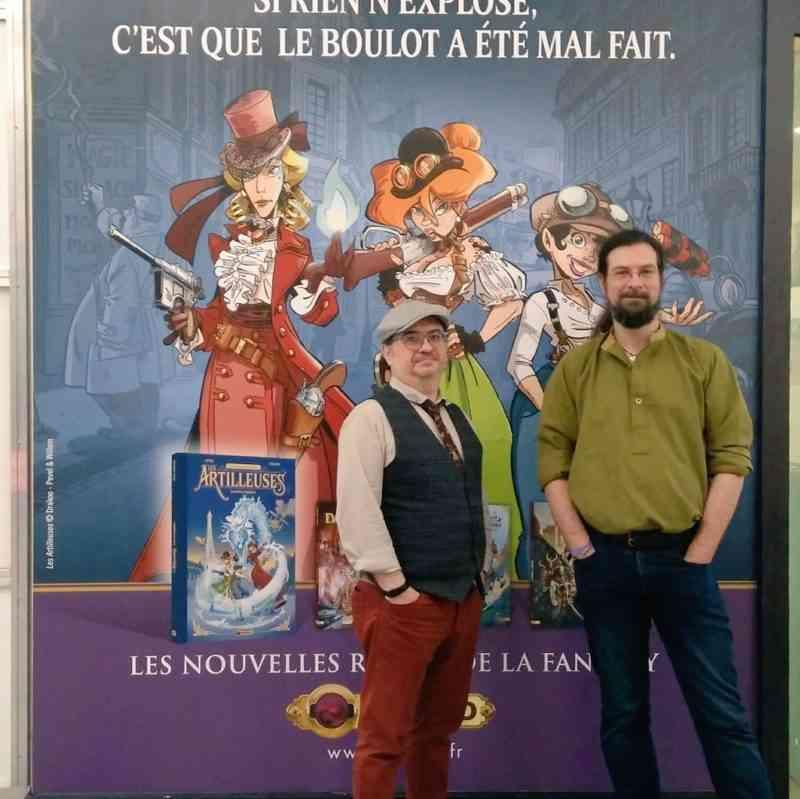 Pierre Pevel et Étienne Willem