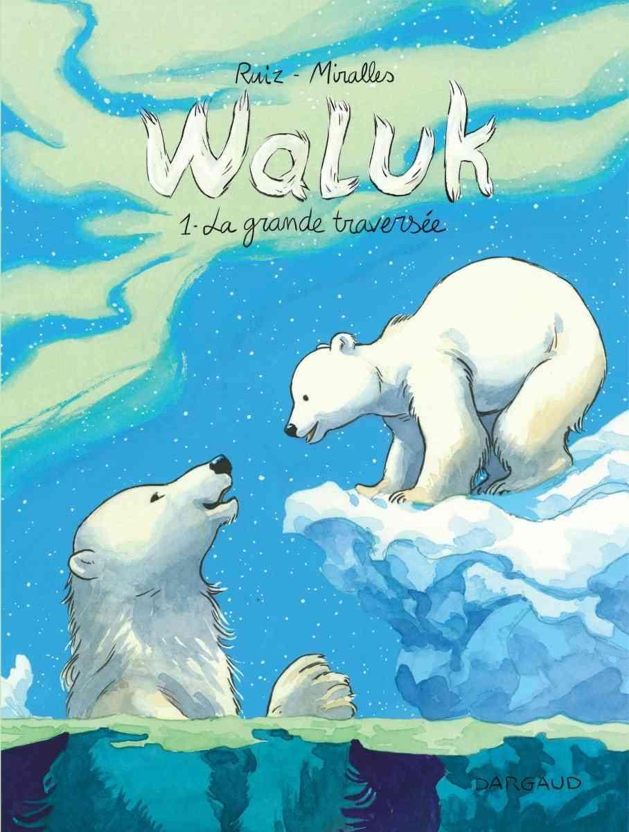 Waluk, un ourson blanc dessiné par Ana Miralles