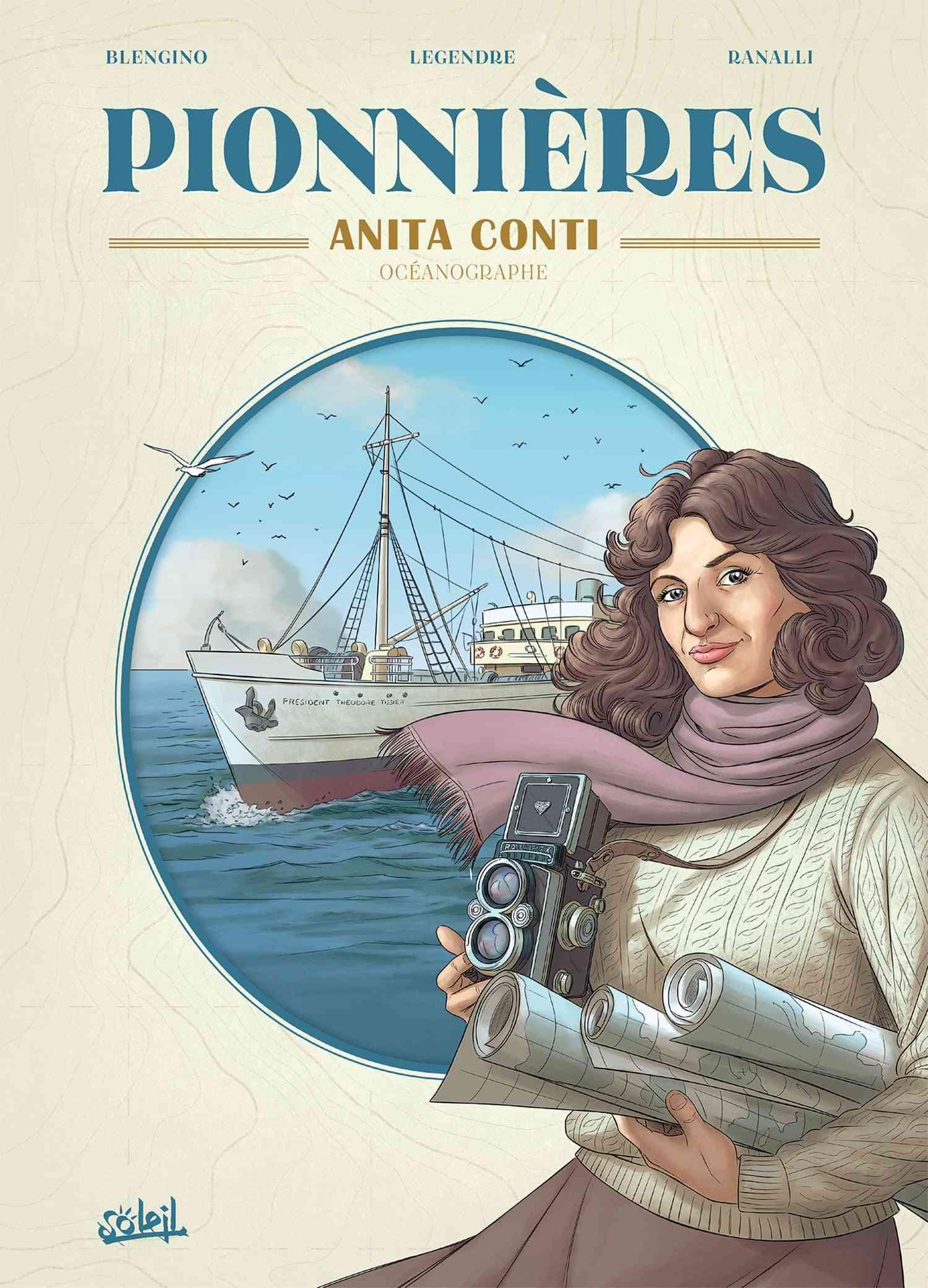 Pionnières, Anita Conti grande dame de la mer