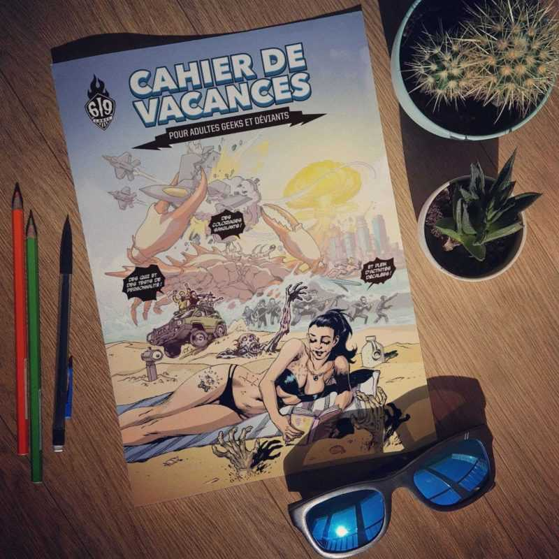 Cahier de vacances Label 619