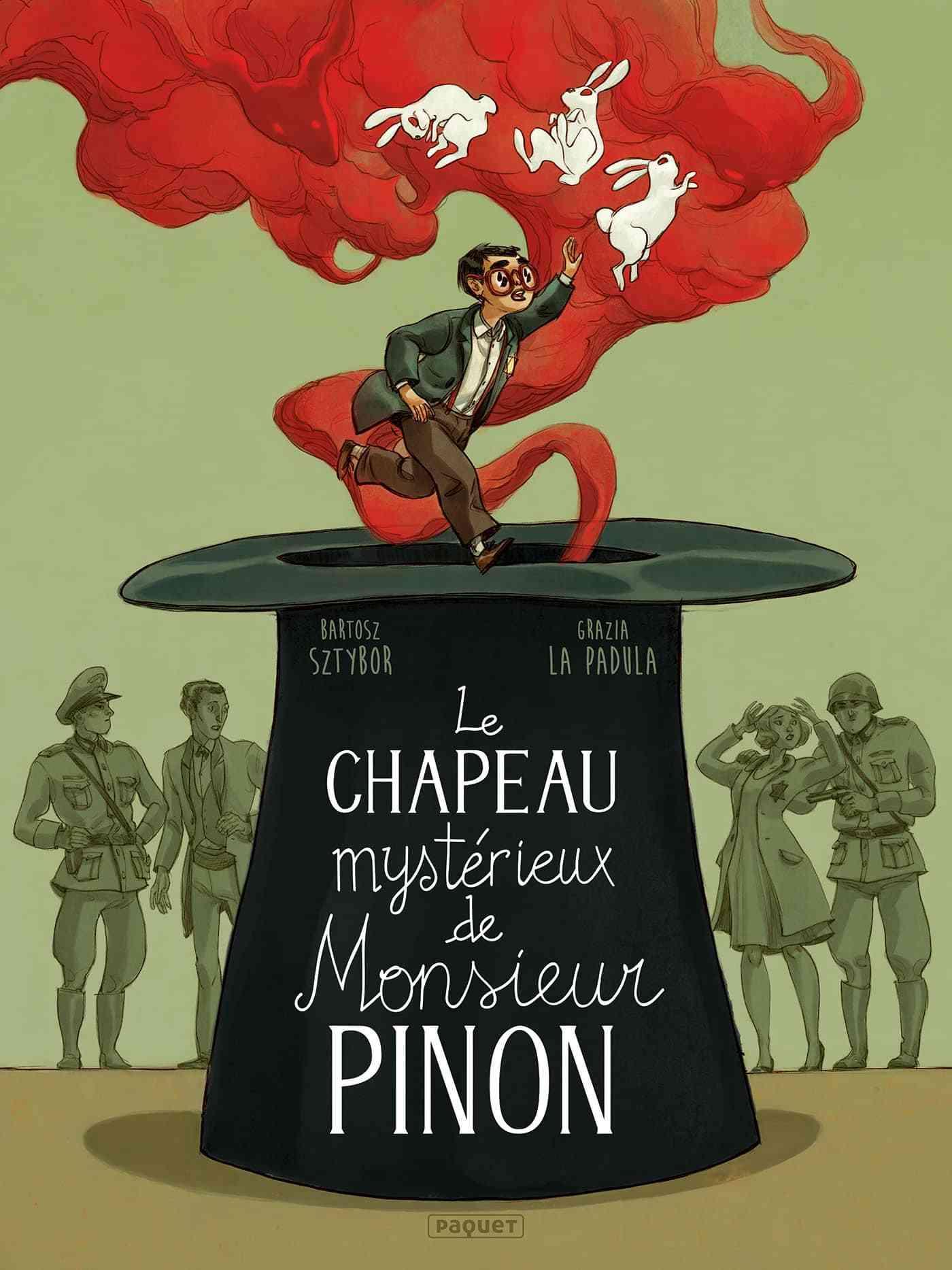 Le Chapeau mystérieux de Monsieur Pinon, magique