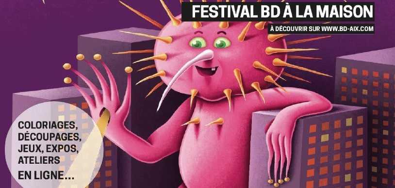 Festival BD à la maison