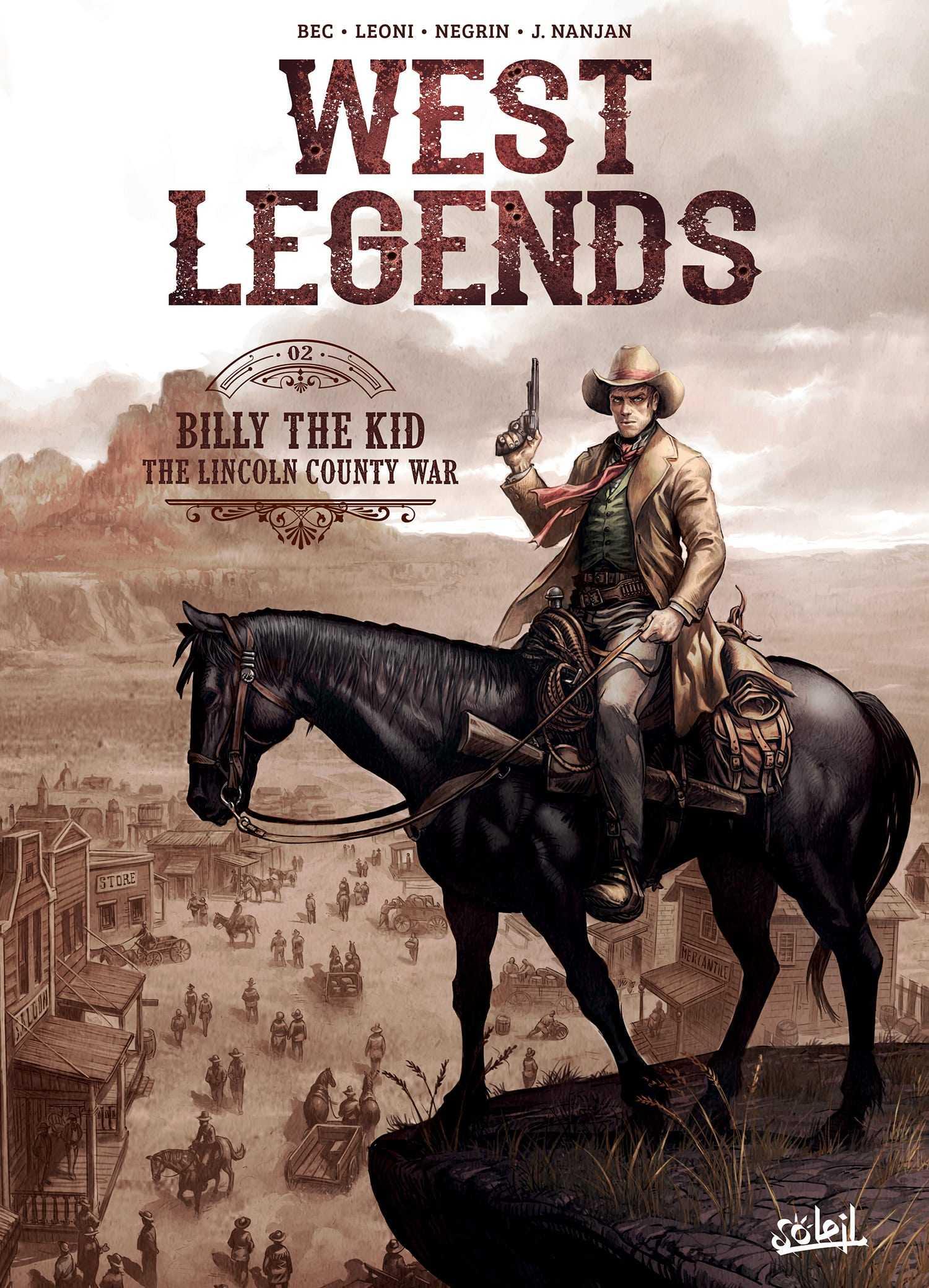 West Legends T2, Billy the Kid entre légende et vérité