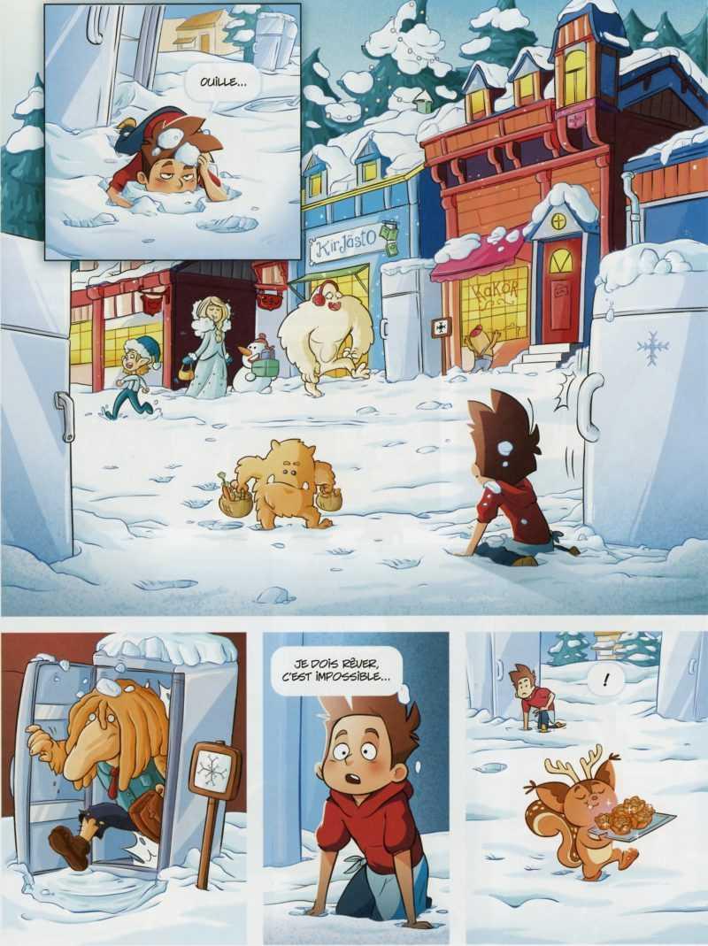 Le cœur de l'hiver