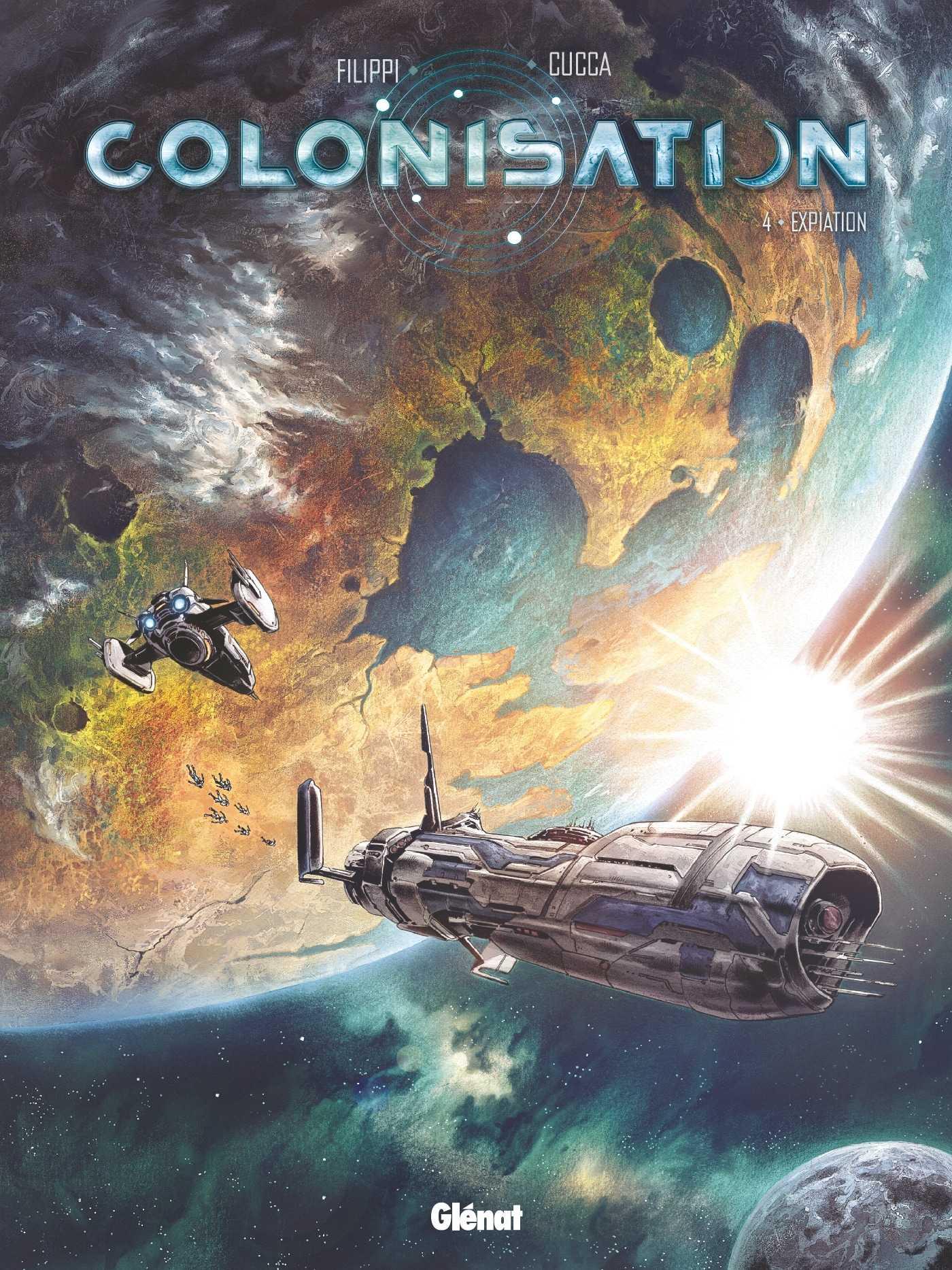 Colonisation T4, découvertes