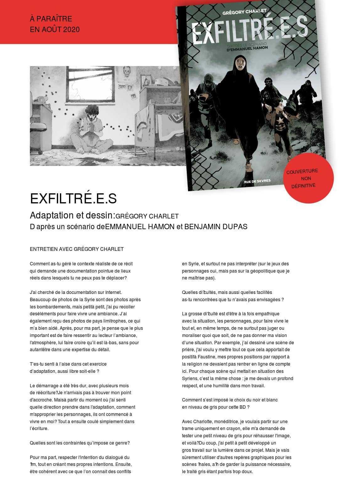 Confinement, l'atelier Rue de Sèvres ouvre ses portes et ses albums