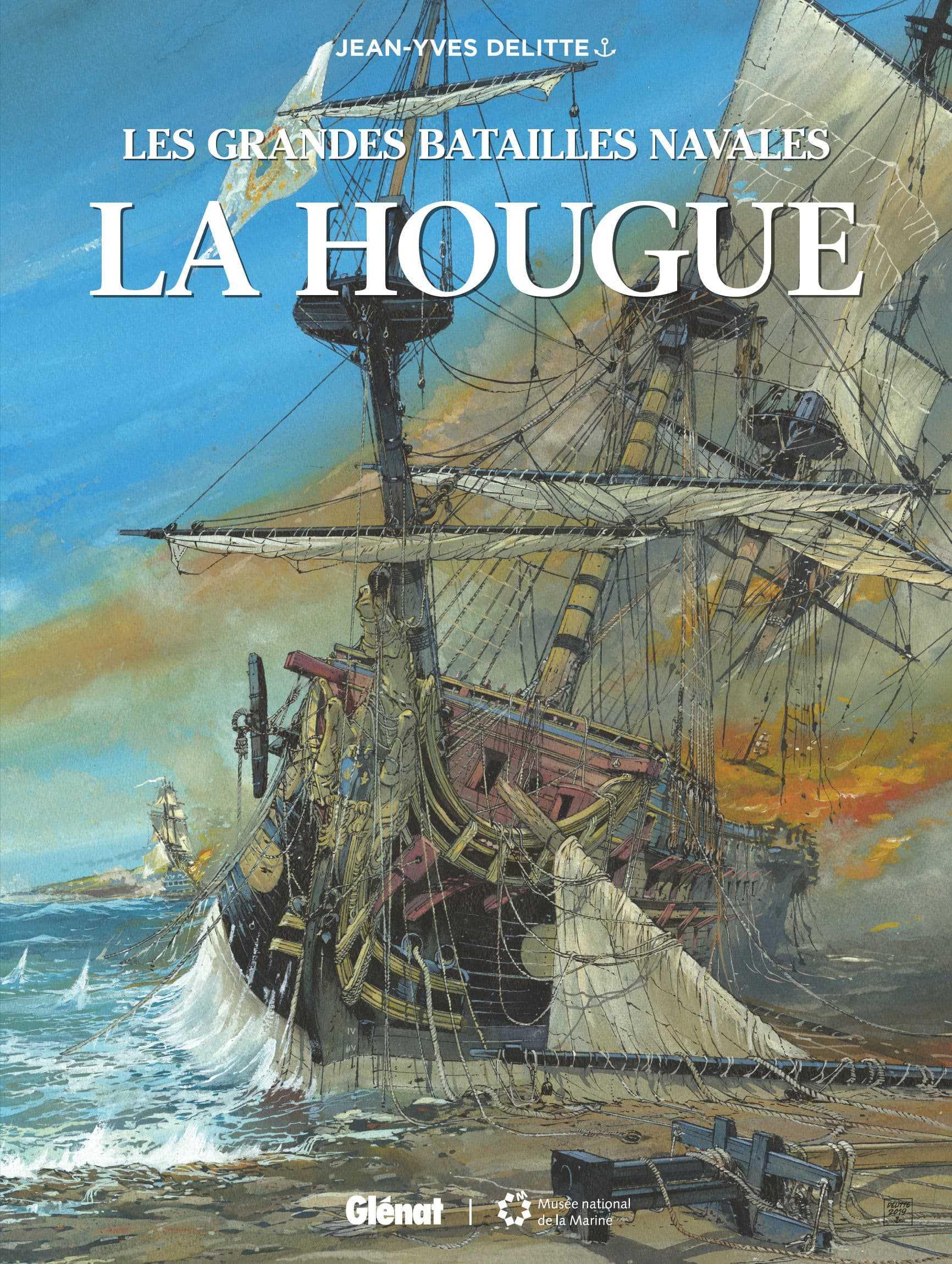 Les Grandes Batailles navales, La Hougue défaite en deux temps