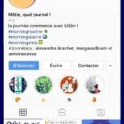 Mâtin quel journal ! fait ses débuts sur Instagram avec Dargaud