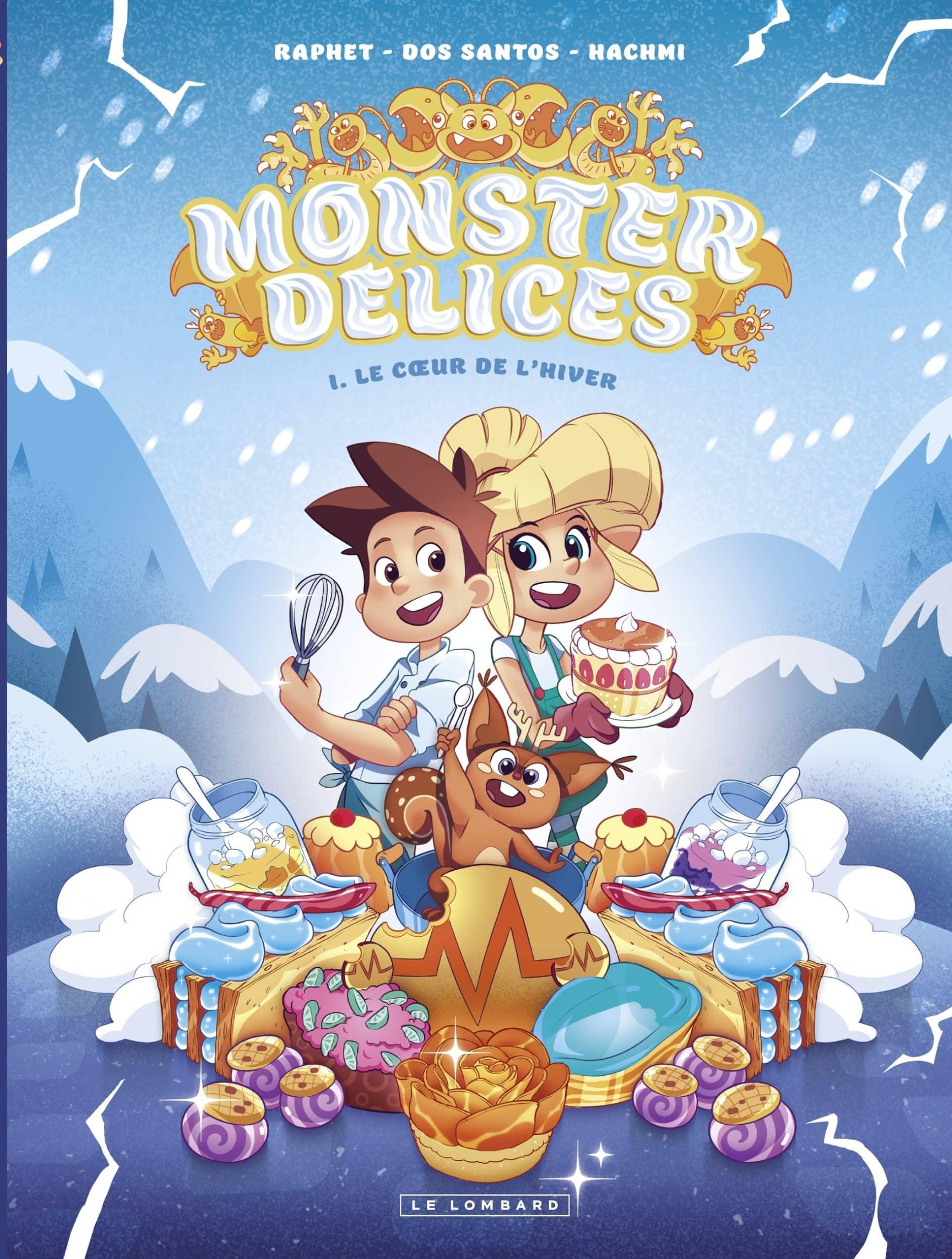 Monster Délices, des recettes et un conte