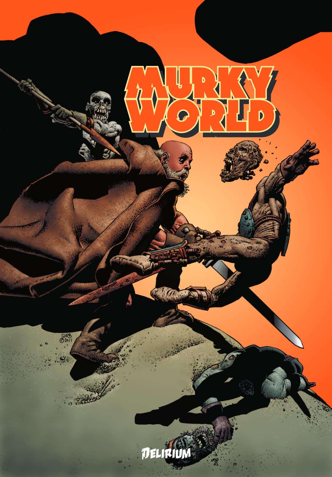 Murky World de Richard Corben en financement participatif sur KissKissBankBank