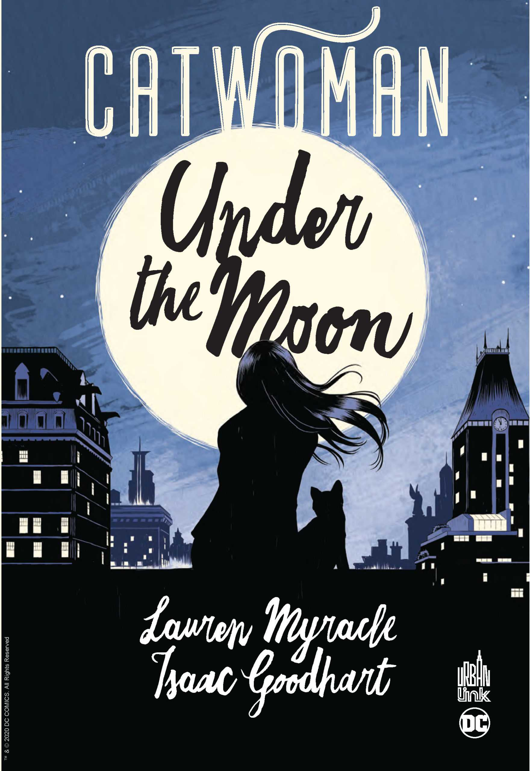 Catwoman Under the moon, un monde de chien