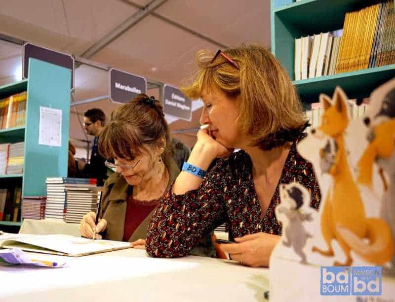 Brigitte Luciani et Eve Tharlet