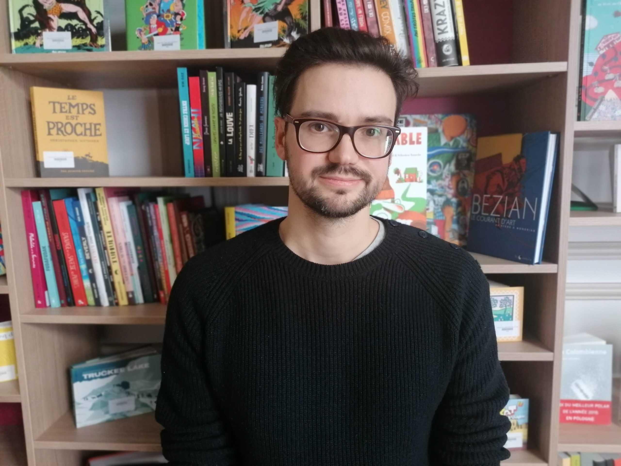 Joseph Falzon nouvel auteur invité de Toute la France dessine !