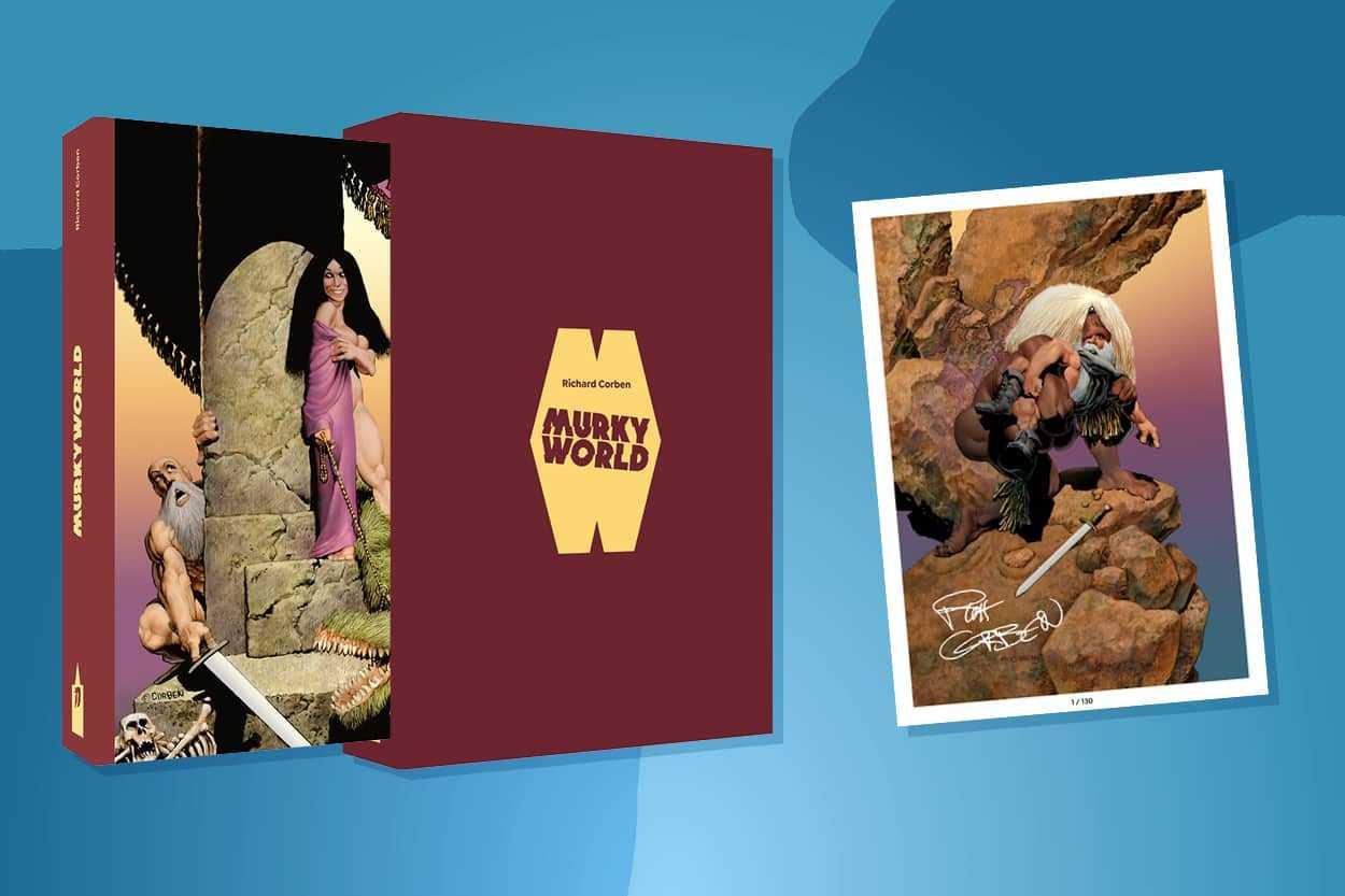 Le financement participatif pour Murky World de Richard Corben est un succès