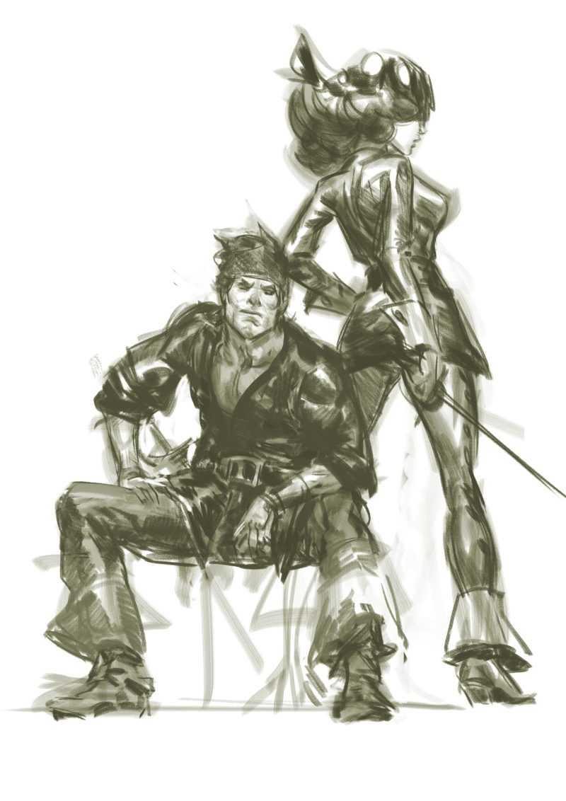 Raven et Blacksee