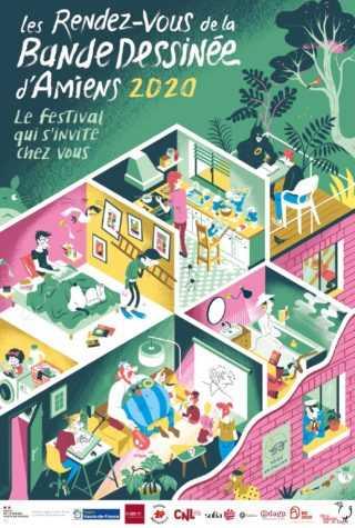 Rendez-vous de la BD d'Amiens 2020