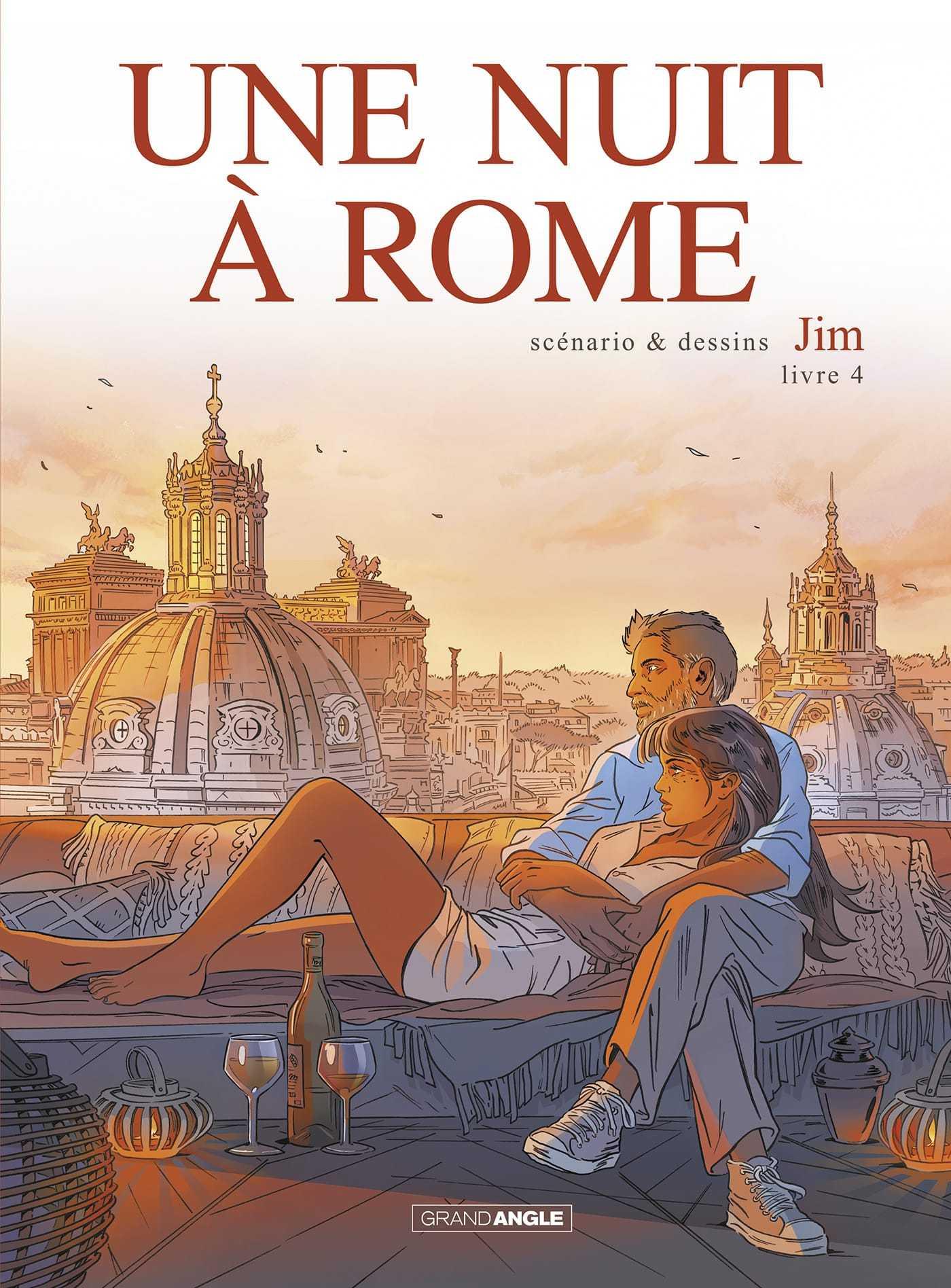 Une Nuit à Rome T4, Jim tire un dernier trait