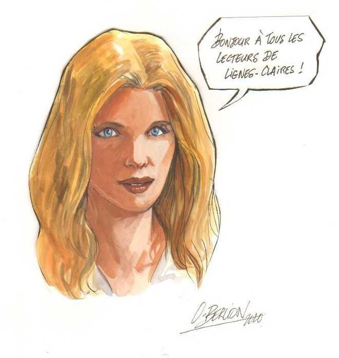 Dédicace d'Olivier Berlion