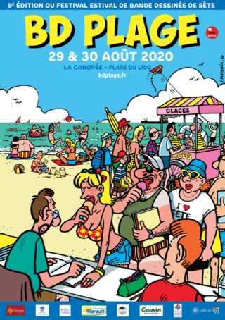 BD Plage à Sète 2020