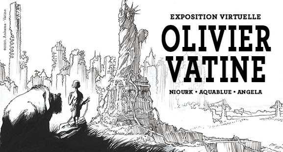Olivier Vatine s'expose virtuellement chez Daniel Maghen