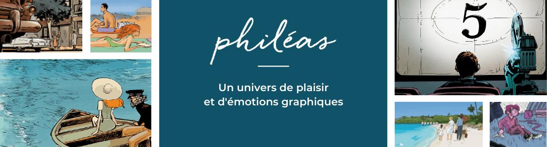 Philéas, nouvelle maison d'édition où le roman s'associe à la BD