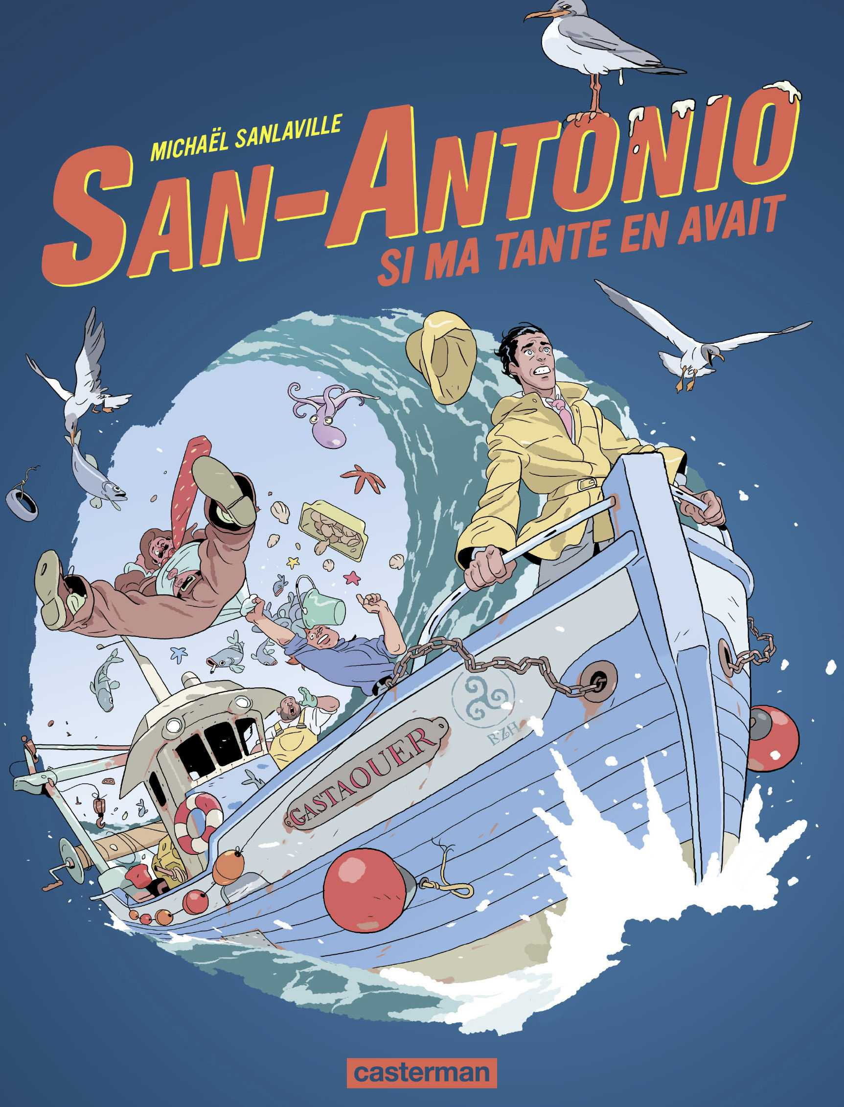 San-Antonio, si ma tante en avait, Sanlaville repart avec Dard