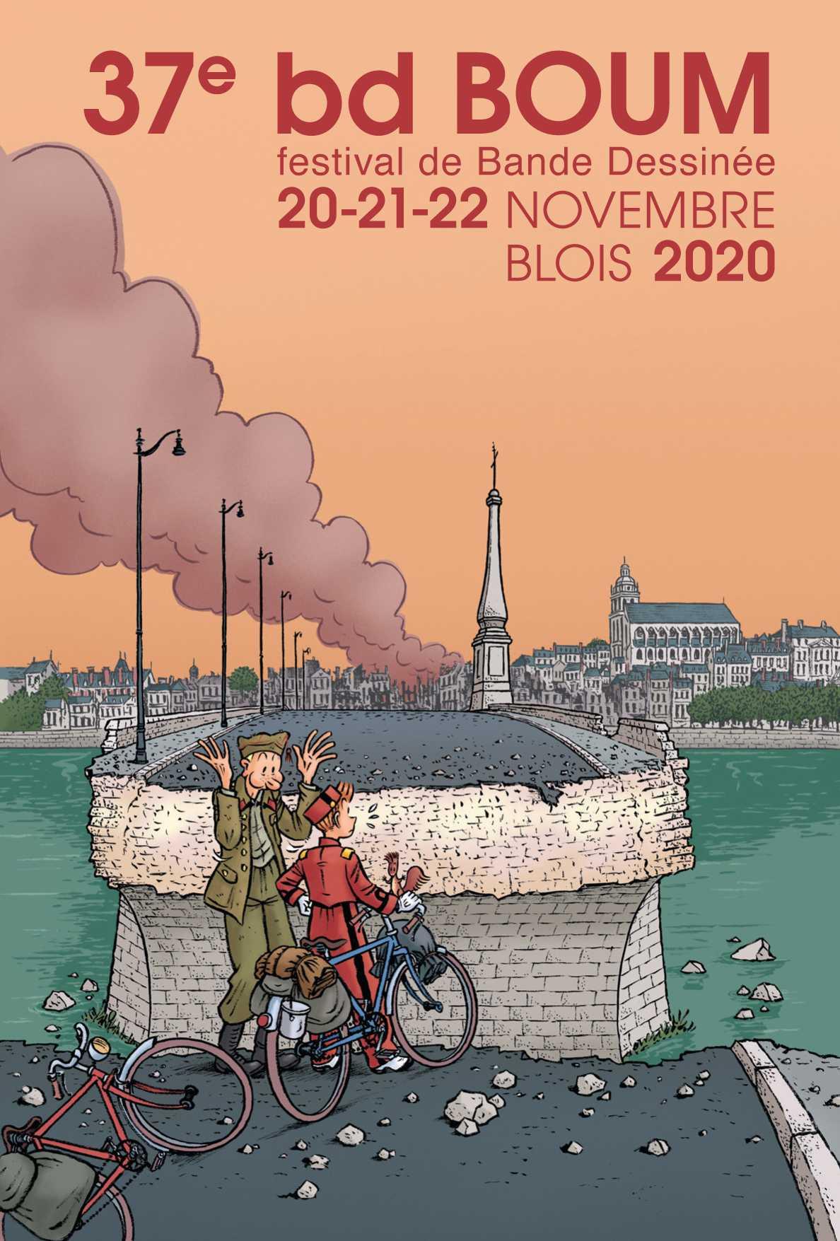 bd BOUM 2020 à Blois, Émile Bravo signe une affiche historique