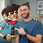 Roger et ses Humains de la BD à la web-série avec Cyprien