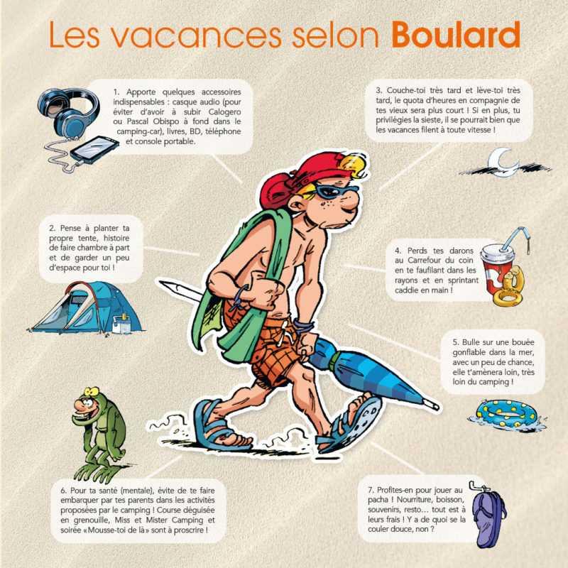 Les vacances selon Boulard