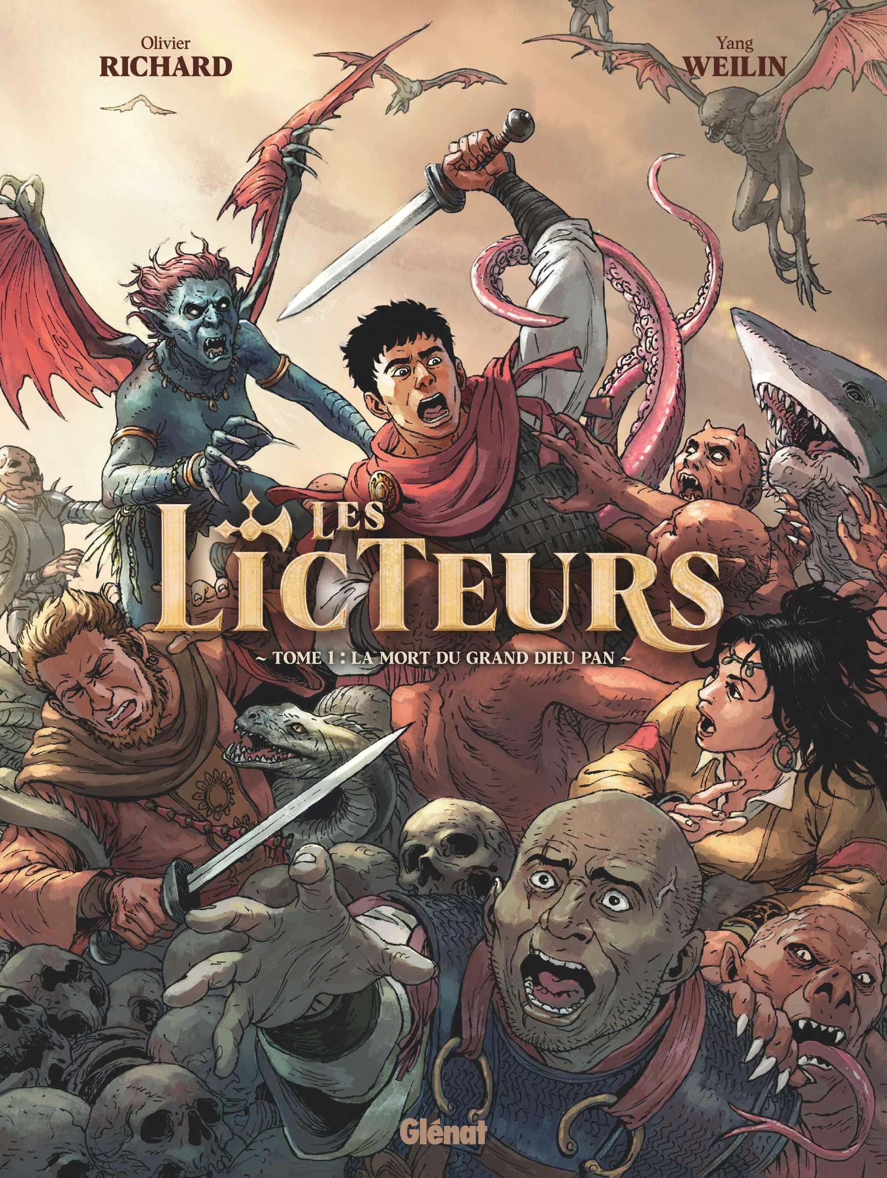 Les Licteurs, saga romaine, impériale et mythologique