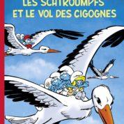 Les Schtroumpfs et le vol des cigognes aux œufs d'or