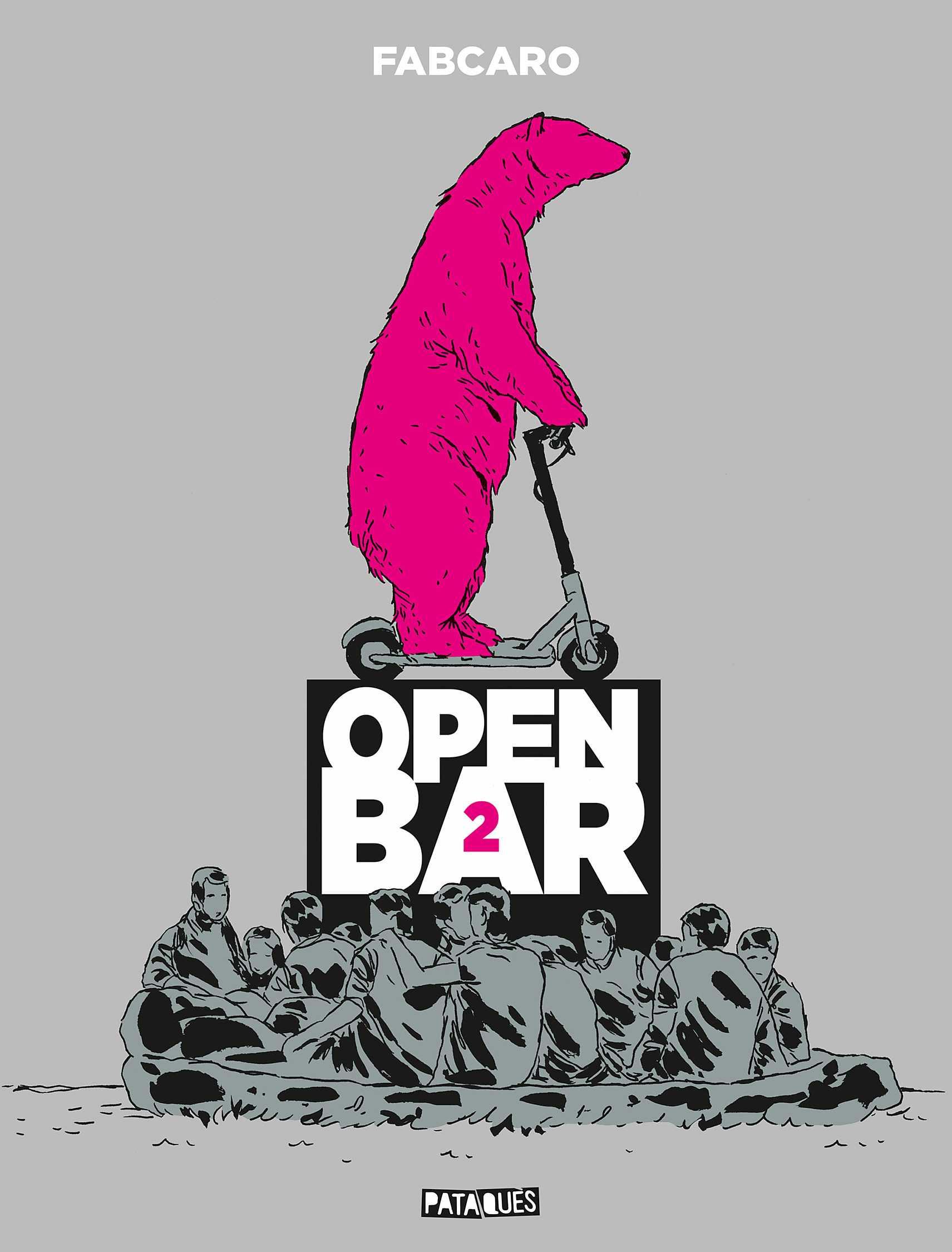 Open Bar 2e tournée, sidérant Fabcaro