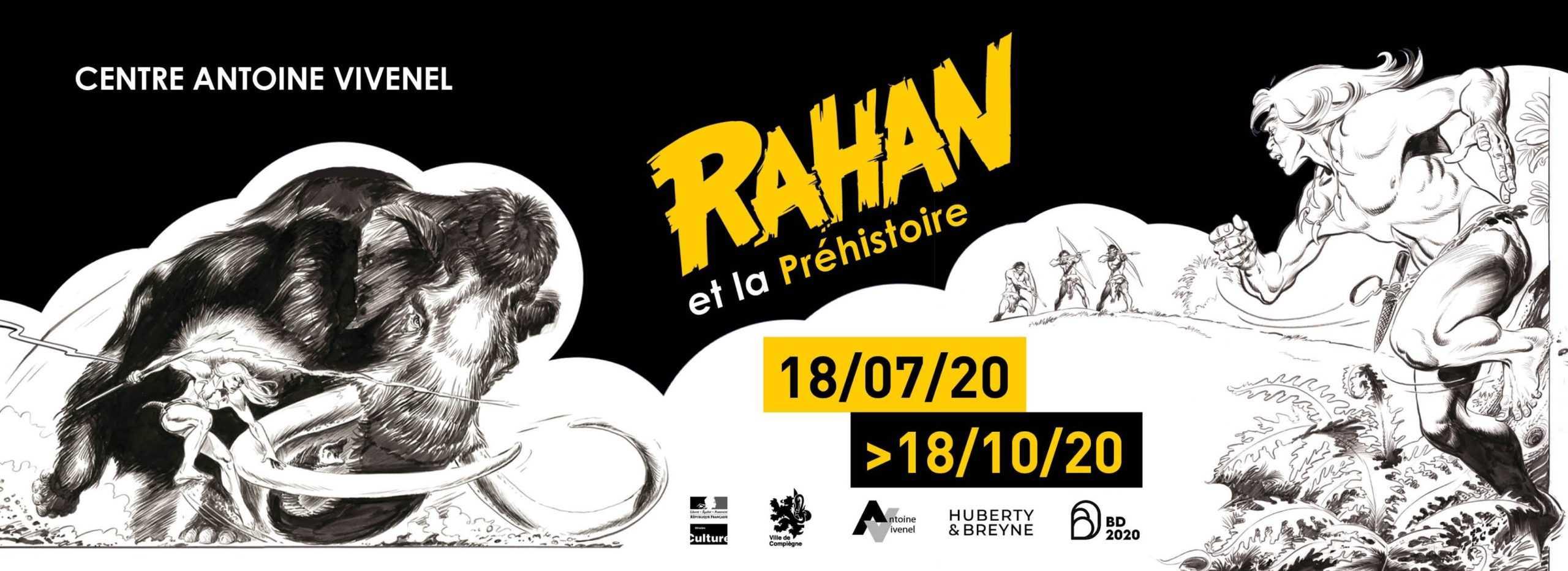 Un été avec Rahan et BD 2020 au musée Antoine Vivenel de Compiègne