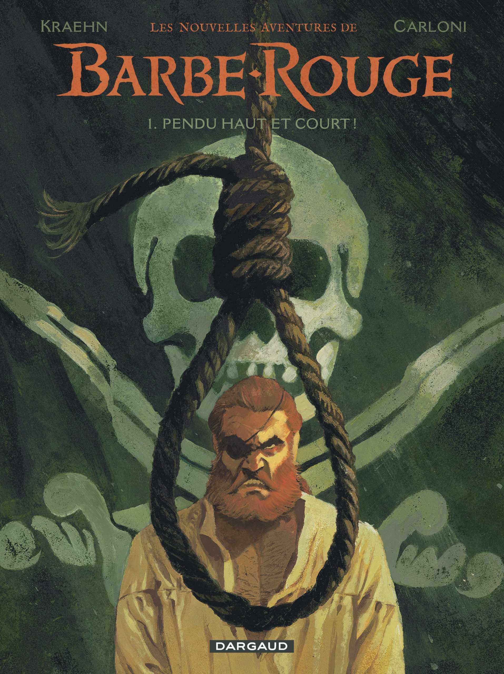 Les Nouvelles aventures de Barbe-Rouge, c'est la mer qui reprend le pirate avec Kraehn