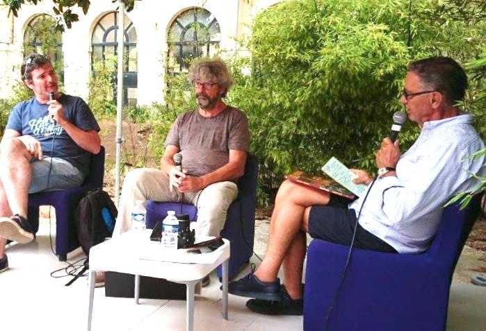 Loïc Nicoloff, Serge Carrère et Jean-Laurent Truc