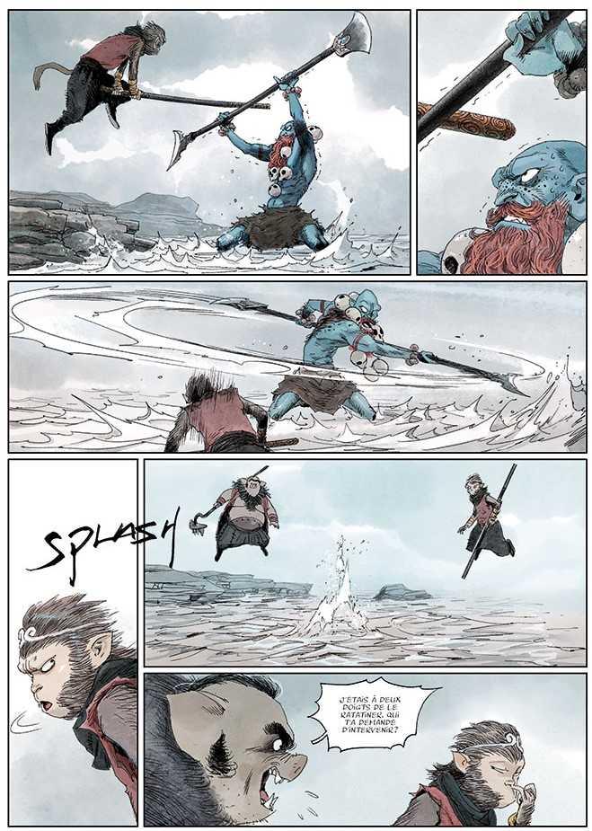 La disgrâce de Wukong