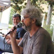 Léo Loden avec Nicoloff et Serge Carrère qui sera, après BD Plage Sète, à Paris chez Traits d'Esprits le 3 septembre