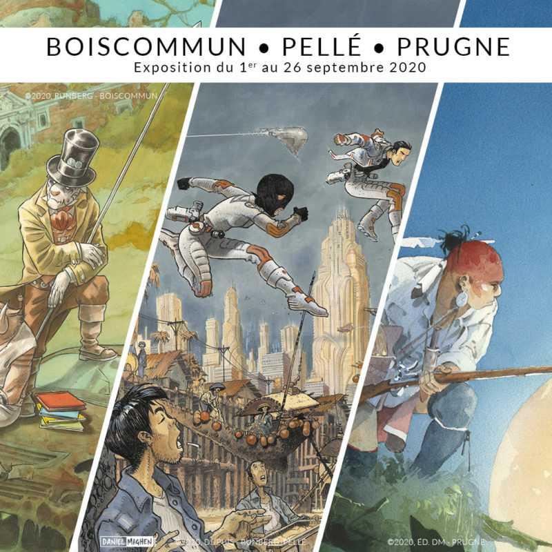 Boiscommun - Pellé - Prugne